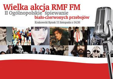 Święto Niepodległości spędź z nami na Rynku Głównym w Krakowie. Śpiewająco!