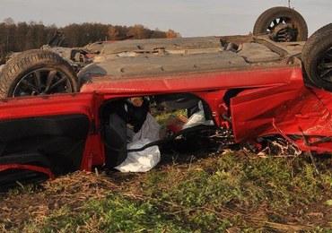 Lubelskie: Tragiczny wypadek na DK 2, nie żyje 26-letni kierowca