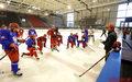 Hokejowa reprezentacja trenuje w Tychach przed turniejem EIHC w Budapeszcie