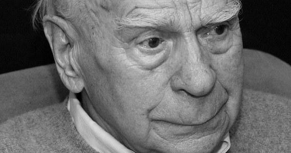Zmarł Janusz Kłosiński. Aktor i reżyser filmowy oraz teatralny miał 96 lat.