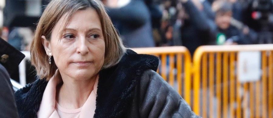 Hiszpański Sąd Najwyższy podjął w czwartek decyzję o zwolnieniu za kaucją w wysokości 150 tysięcy euro szefowej parlamentu Katalonii. Carme Forcadell została zatrzymana w związku z postępowaniem ws. ogłoszenia 27 października przez parlament Katalonii niepodległości regionu.
