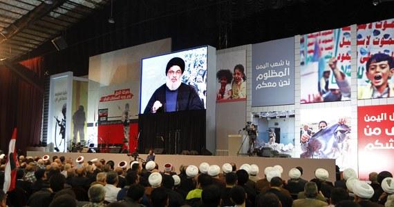 """""""Arabia Saudyjska wypowiedziała wojnę Libanowi oraz Hezbollahowi"""" - powiedział przywódca tej szyickiej organizacji Hasan Nasrallah. Ostrzegł, że Rijad podżega do konfliktu zbrojnego z Libanem Izrael, ale wybuch wojny z tym krajem uznał za """"mało prawdopodobny""""."""