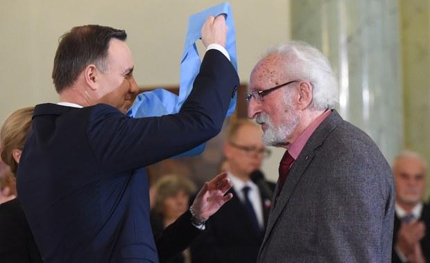 Ks. Bernard Czernecki, Franciszek Pieczka i Andrzej Pityński zostali odznaczeni przez prezydenta Andrzeja Dudę Orderem Orła Białego. Uroczystość odbyła się w Pałacu Prezydenckim w Warszawie.