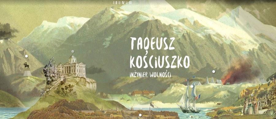 Od dziś w internecie działa niezwykłe muzeum poświęcone Tadeuszowi Kościuszce. Można w nim obejrzeć około 100 eksponatów m.in.zPolski, Białorusi, gdzie urodził się Kościuszko iSzwajcarii, gdzie zmarł.