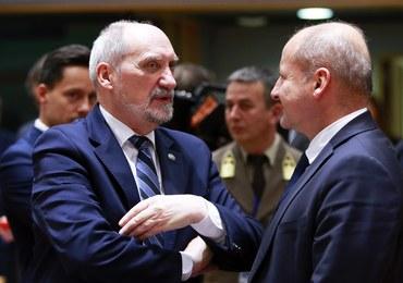 Macierewicz: Nasz udział w PESCO pod warunkami. Najważniejszy dotyczy wzmocnienia flanki wschodniej