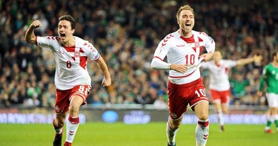 Piłkarska reprezentacja Danii pokonała w Dublinie Irlandię 5:1 (2:1) i awansowała na przyszłoroczne mistrzostwa świata w Rosji. W pierwszym spotkaniu w Kopenhadze padł bezbramkowy remis. Znane są już wszystkie zespoły z Europy, które zagrają w mundialu.