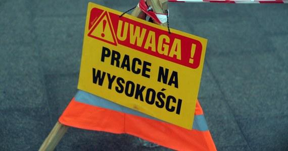Tragedia na placu budowy na krakowskich Czyżynach. Na podeście żurawia budowlanego - ok. 30 metrów nad ziemią - znaleziono ciało mężczyny.