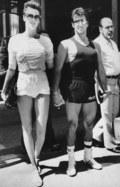Brigitte Nielsen w obronie Sylvestra Stallone'a