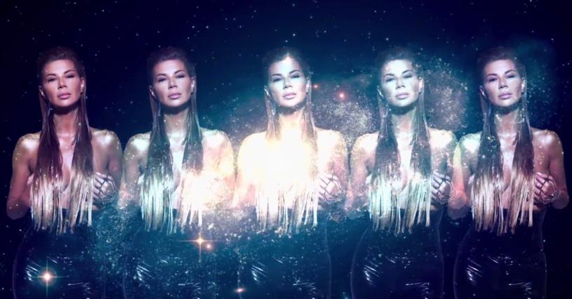 """Poniżej możecie zobaczyć tzw. lyric video """"Andromeda"""" Edyty Górniak. Utwór napisał dla niej producent Donatan."""
