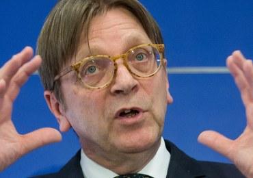 """Guy Verhofstadt pogratulował Katarzynie Lubnauer. """"Powodzenia w walce o wolną Polskę"""""""