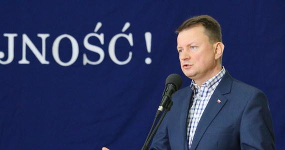 Mam nadzieję, że sprawcy tego aktu wandalizmu zostaną szybko ujęci - podkreślił minister spraw wewnętrznych i administracji Mariusz Błaszczak, odnosząc się do dewastacji Ośrodka Kultury Muzułmańskiej w Warszawie.