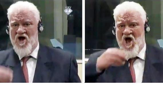 Nie żyje Slobodan Praljak, który zażył truciznę podczas odczytywania wyroku w procesie apelacyjnym przed ONZ-owskim trybunałem ds. zbrodni wojennych w dawnej Jugosławii - podały chorwackie media. Trybunał w Hadze odczytywał wyrok w procesie apelacyjnym Slobodana Prlicia, byłego przywódcy bośniackich Chorwatów, skazanego w 2013 roku na 25 lat za zbrodnie wojenne na Bałkanach. Obok niego na ławie oskarżonych zasiadło pięć innych osób. Jedną z nich był właśnie Slobodan Praljak, który po ogłoszeniu decyzji o podtrzymaniu wyroku 20 lat więzienia, wypił płyn z niewielkiej buteleczki.