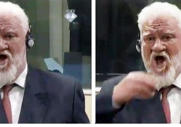Nie żyje chorwacki zbrodniarz wojenny, który wypił truciznę przed ONZ-owskim trybunałem w Hadze