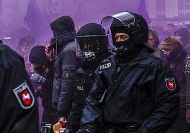 Starcia przed zjazdem AfD w Hanowerze. Są ranni