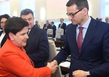 """Morawiecki za Szydło? """"Taka propozycja się pojawiła"""". Potwierdzają się ustalenia RMF FM"""