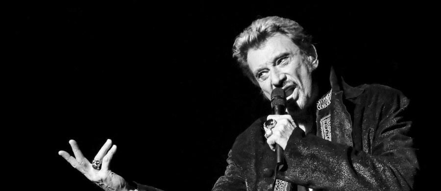 Nie żyje słynny francuski piosenkarz, kompozytor i aktor Johnny Hallyday. Zmarł w nocy z wtorku na środę w wieku 74 lat. O śmierci artysty poinformowała agencję AFP jego żona, Laeticia.
