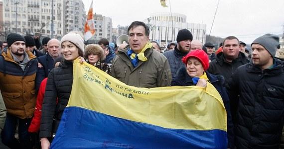Prokuratura Generalna Ukrainy wysłała list gończy za prezydentem Gruzji i przywódcą opozycyjnej ukraińskiej partii Ruch Nowych Sił Micheilem Saakaszwilim - oświadczył rzecznik prokuratury Andrij Łysenko.