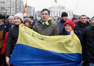 Ukraińska prokuratura wysłała list gończy za Micheilem Saakaszwilim