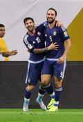 MŚ Rosja 2018. Lionel Messi chce powrotu Gonzalo Higuaina do kadry