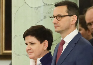 Beata Szydło złożyła gratulacje Mateuszowi Morawieckiemu na Twitterze