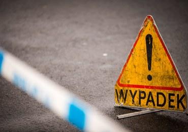 Wypadek w Bujakowie: Drzewo spadło na auto, w środku była matka z dziećmi