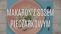 Szybkie danie - makaron z sosem pieczarkowym