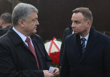 """Duda spotkał się z Poroszenką. """"Musimy dbać o to, żeby dążono do prawdy"""""""