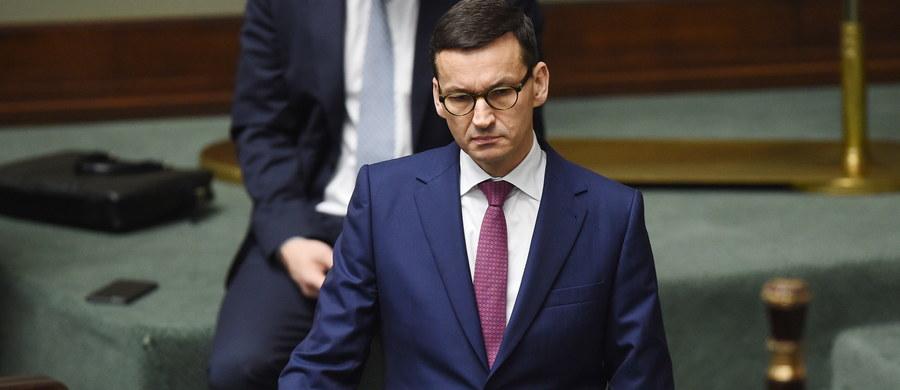 Premier Mateusz Morawiecki wystawił zlecenie na sprzedaż akcji Banku Zachodniego WBK, które posiada - poinformował zastępca dyrektora Departament Komunikacji Ministerstwa Rozwoju Stanisław Starnawski.