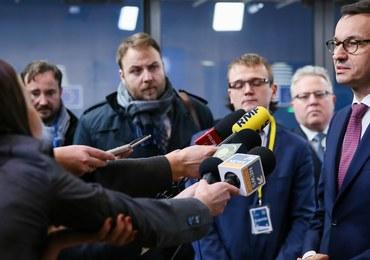 """""""Spotkanie ostatniej szansy"""" Morawieckiego z Junckerem"""