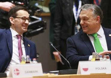 Morawiecki przekazał Orbanowi pełnomocnictwo do reprezentowania Polski na szczycie UE