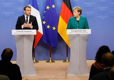 Macron i Merkel będą wspierać Komisję Europejską w działaniach dot. Polski