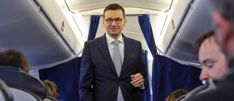 Kandydaci na szefów resortu rozwoju i finansów są już znani, ale najpierw porozmawiamy o nich na najwyższym szczeblu kierownictwa politycznego - powiedział premier Mateusz Morawiecki.