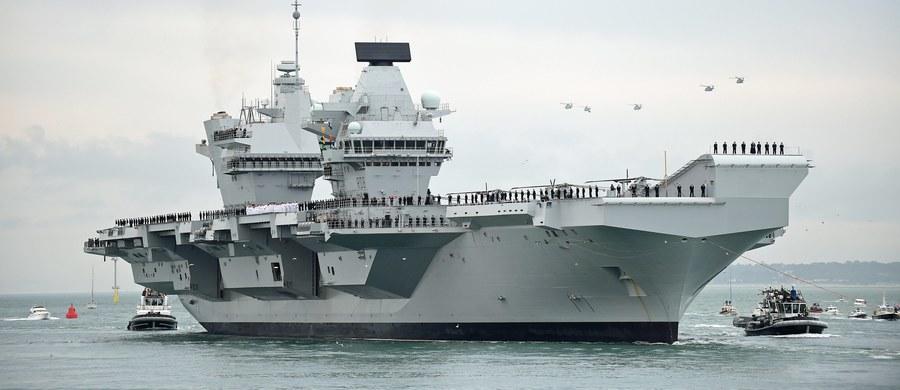 Kosztował ponad 3 miliardy funtów, ale przecieka. Mowa o najnowszym brytyjskim lotniskowcu, który w tym miesiącu przekazany został marynarce wojennej