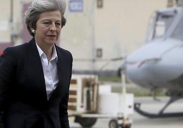 """Myśliwce przechwyciły samolot Theresy May. """"Byłam świadkiem niezwykłych umiejętności"""""""