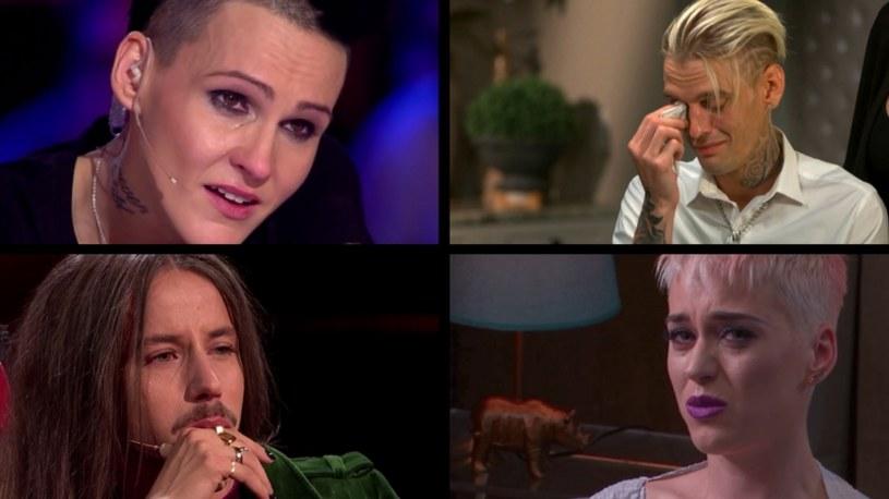 Wzruszające wyznania i chwytające za serce wystąpienia. Te gwiazdy w tym roku nie potrafiły ukryć swoich łez.