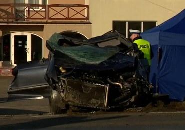 Kobieta i dwoje dzieci zginęli w wypadku w Kujawsko-Pomorskiem