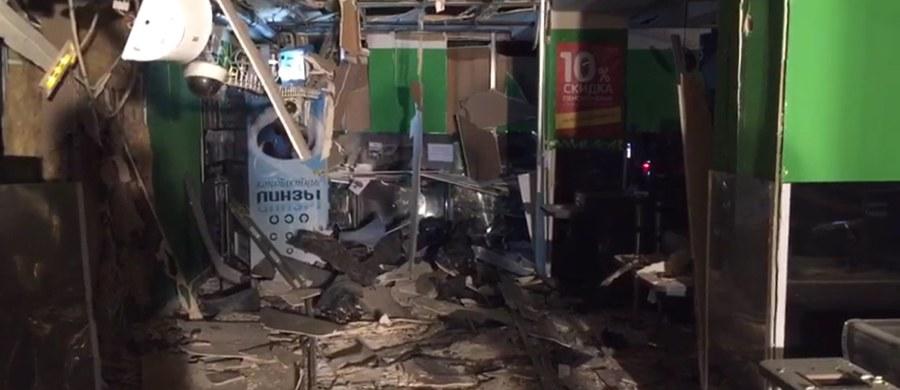 Rosyjska Federalna Służba Bezpieczeństwa zatrzymała mężczyznę podejrzanego o zorganizowanie i przeprowadzenie zamachu bombowego na supermarket w Petersburgu. Do zamachu doszło w środę. Rannych zostało 13 osób.