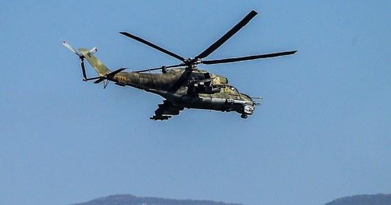 Rosyjski śmigłowiec bojowy Mi-24 rozbił się w niedzielę w Syrii wskutek usterki technicznej, a dwaj z członków jego załogi zginęli - poinformowało w środę ministerstwo obrony Rosji.