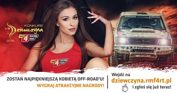 Dziewczyna RMF4RT to internetowy konkurs piękności organizowany przez Mistrza Polski w rajdach terenowych, zespół RMF 4RACING Team. Misją plebiscytu jest wybór najpiękniejszej kobiety polskiego Off-road'u. Właśnie rusza kolejna, 5. edycja konkursu.