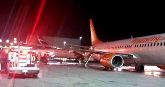 Na lotnisku Pearson w Toronto doszło do kolizji samolotu linii Sunwing Airlines z samolotem linii Westjet Airlines. W wyniku kolizji doszło do pożaru, który został ugaszony - poinformował kanadyjski nadawca CP24. Wszystkich pasażerów ewakuowano.