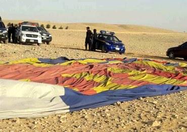 Egipt: Balon z turystami runął na ziemię. 4 osoby zatrzymane