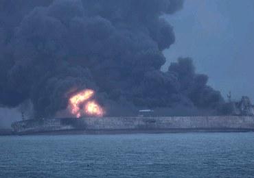 Pożar tankowca u wybrzeży Chin: Jest groźba eksplozji