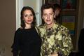 Bartosz Obuchowicz z żoną na premierze