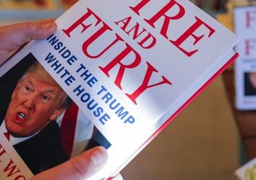 Wydawca książki o Trumpie zarzuca prezydentowi USA pogwałcenie konstytucji
