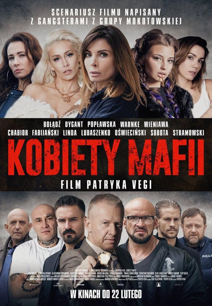 """Najnowszy film Patryka Vegi - """"Kobiety mafii"""" - trafi do kin nietypowo, bo w czwartek. Premiera obrazu zaplanowana jest na 22 lutego."""