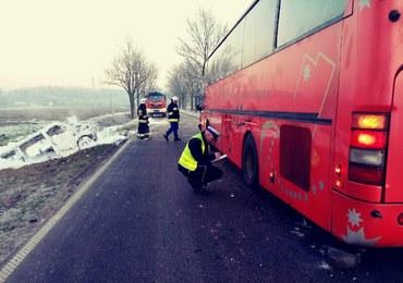 Kujawsko-Pomorskie: Bus zderzył się z autobusem. Osiem osób rannych