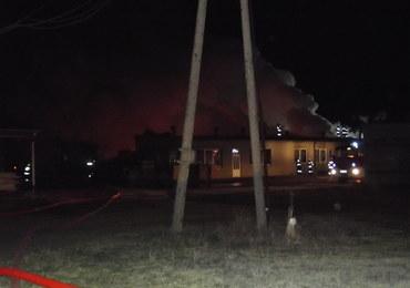 Wielkopolska: Pożar fabryki palet w Grabowie. Straty oszacowano na ponad milion zł