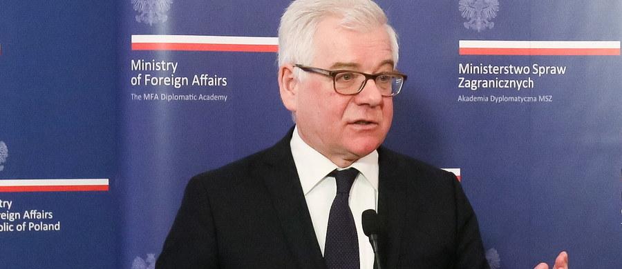 Jacek Czaputowicz, dotychczasowy podsekretarz stanu w Ministerstwie Spraw Zagranicznych, zastąpił na stanowisku szefa resortu Witolda Waszczykowskiego. Tym samym potwierdziły się nieoficjalne informacje RMF FM.