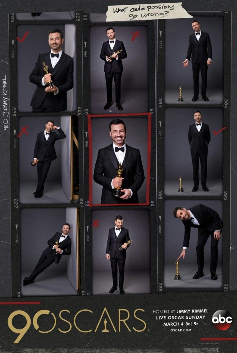 Na dwa tygodnie przed ogłoszeniem nominacji do Oscarów, Akademia Sztuki i Wiedzy Filmowej zaprezentowała plakat wydarzenia. Znajduje się na nim prowadzący galę Jimmy Kimmel.