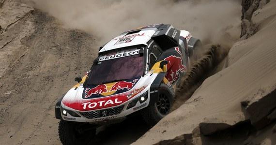 Dziewięciokrotny rajdowy mistrz świata Francuz Sebastien Loeb (Peugeot 3008 DKR) wygrał w Peru czwarty etap Rajdu Dakar wśród kierowców samochodów. Po wypadku wycofał się lider motocyklistów Brytyjczyk Sam Sunderland.